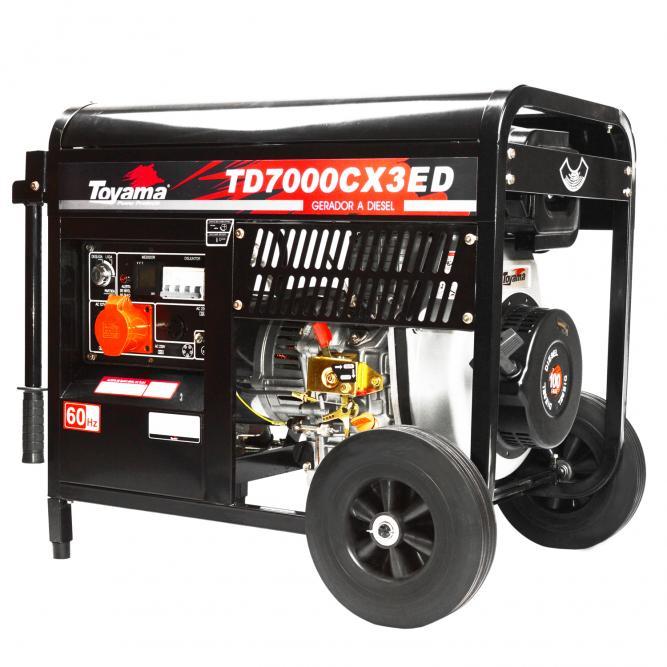 2ebd00b3684 Gerador de Energia Toyama TD7000CX3E 6