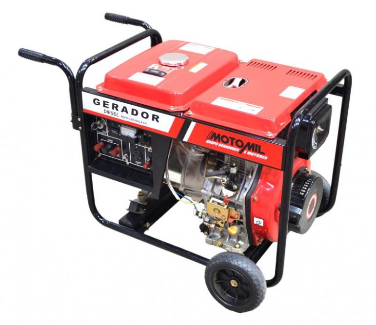 2717c131324 Gerador de Energia Motomil MDGT8000CLE 6
