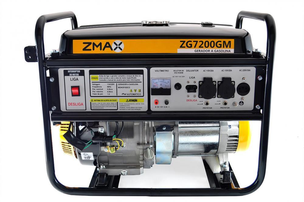 0e856d32910 Gerador de Energia Zmax ZG7200GM 6